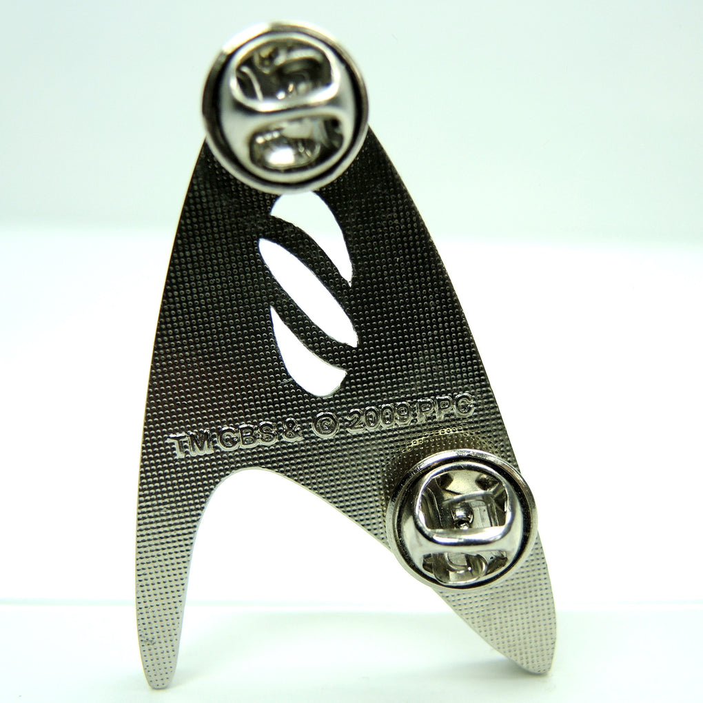 Star Trek Science Symbol Lapel Pin CBS 2009 - Fazoom