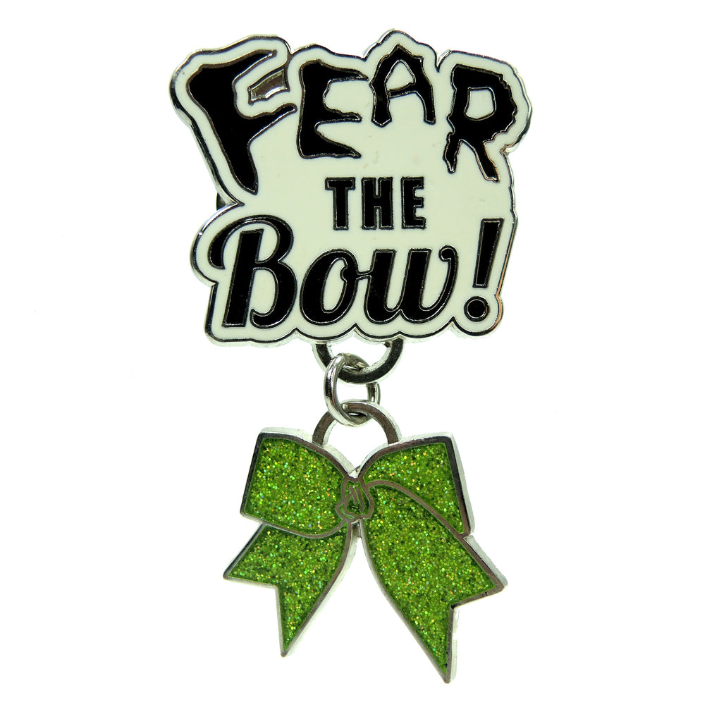 Fear The Bow Varsity Lapel Pin - Fazoom