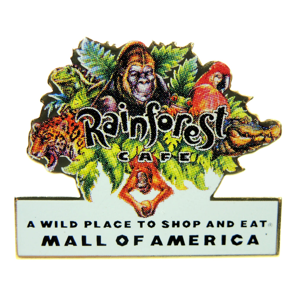 Rainforest Cafe Mall of America Minnesota Lapel Pin - Fazoom