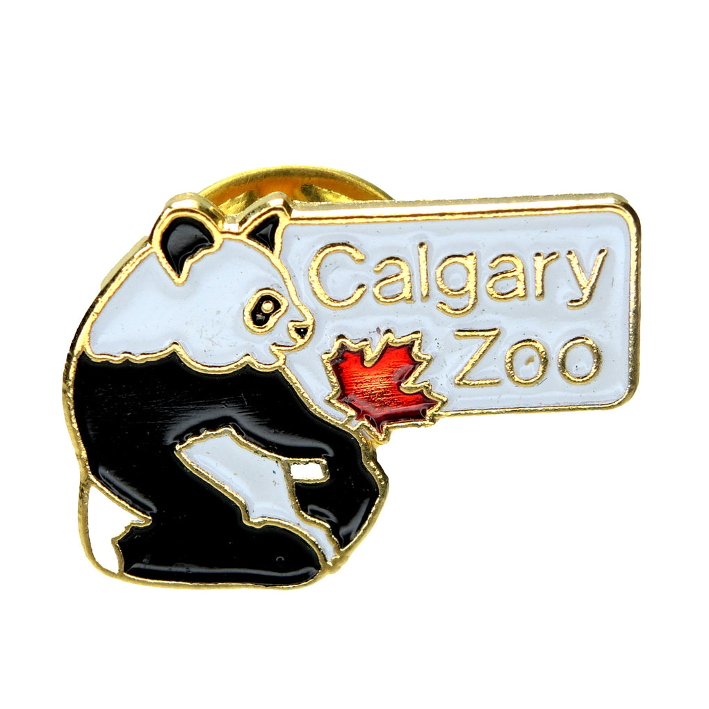 Calgary Zoo 1987 Panda Lapel Pin