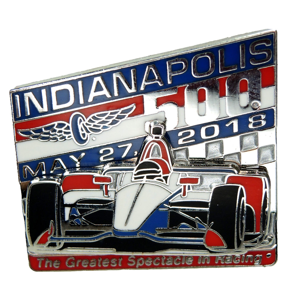 Indianapolis 500 2018 Lapel Pin