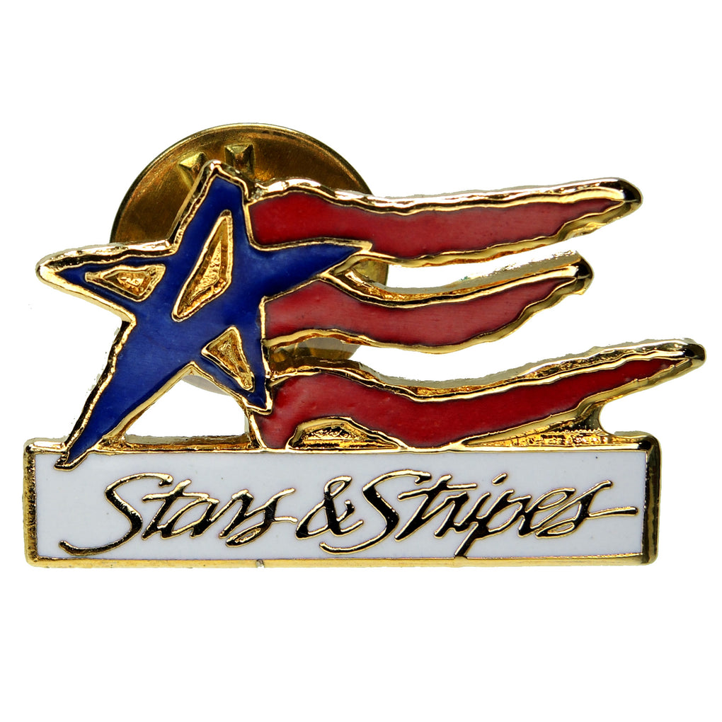 Olympic Games Stars & Stripes USA Lapel Pin
