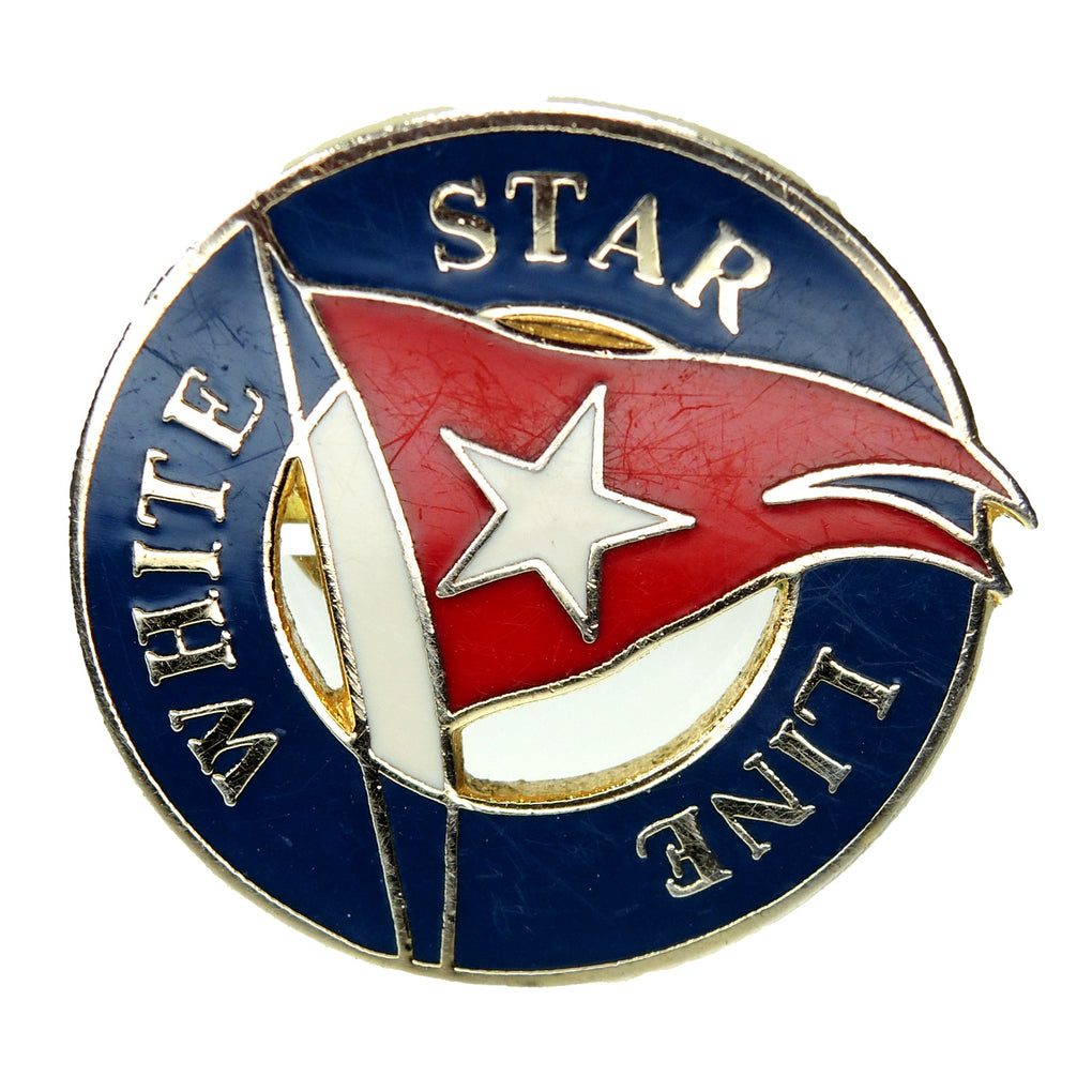 White Star Line Cruise Lapel Pin