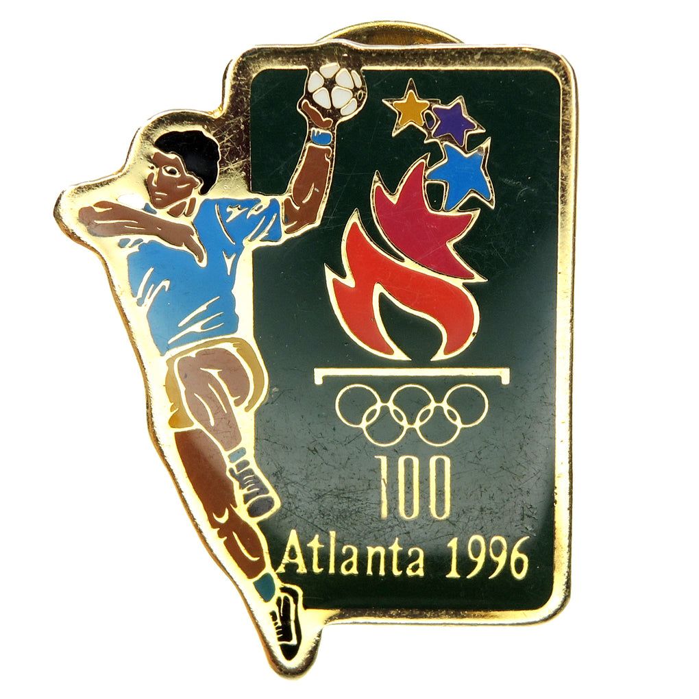 Atlanta 1996 Summer Olympic Games Team Handball Lapel Pin 41964