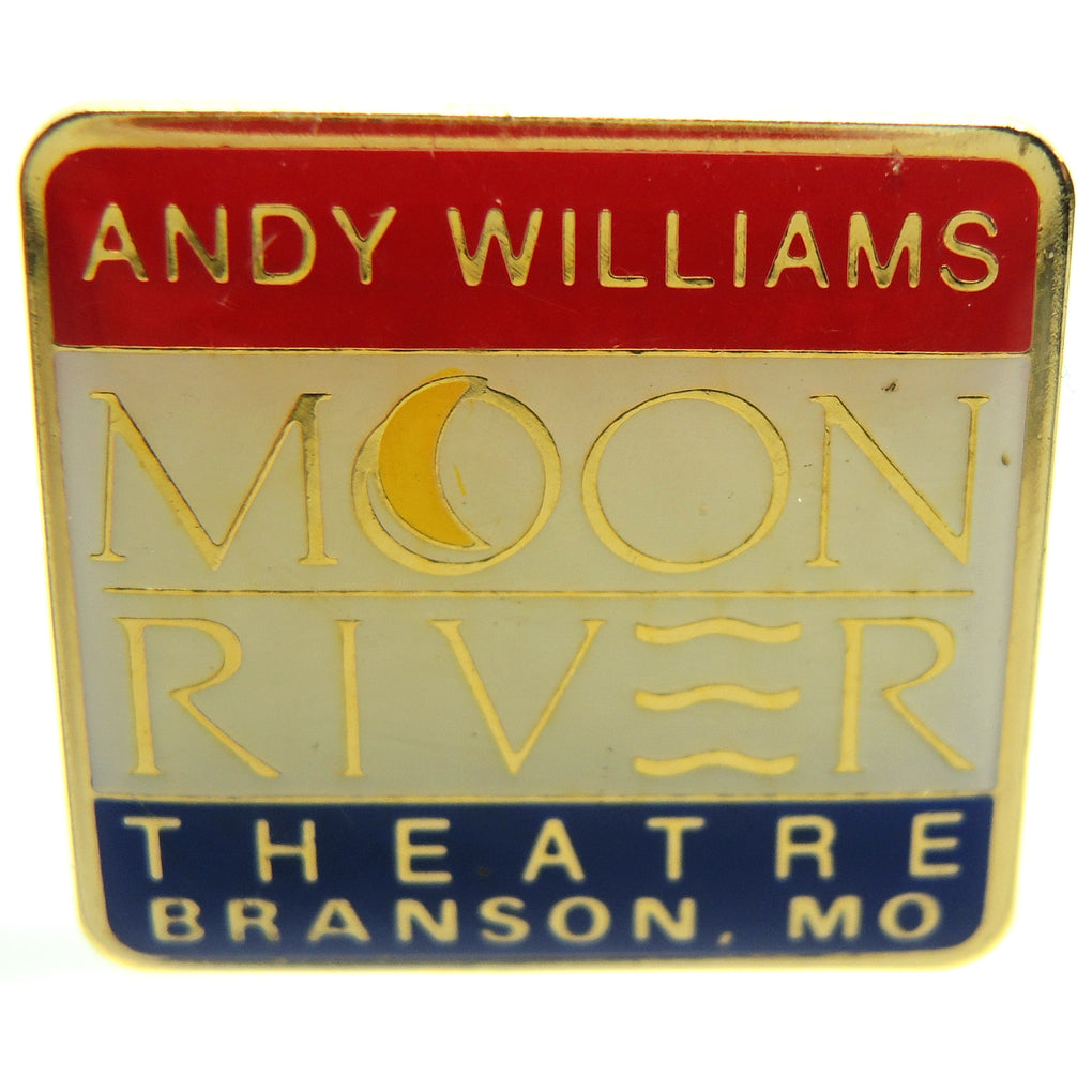Andy Williams Moon River Theatre Branson Missouri Lapel Pin - Fazoom