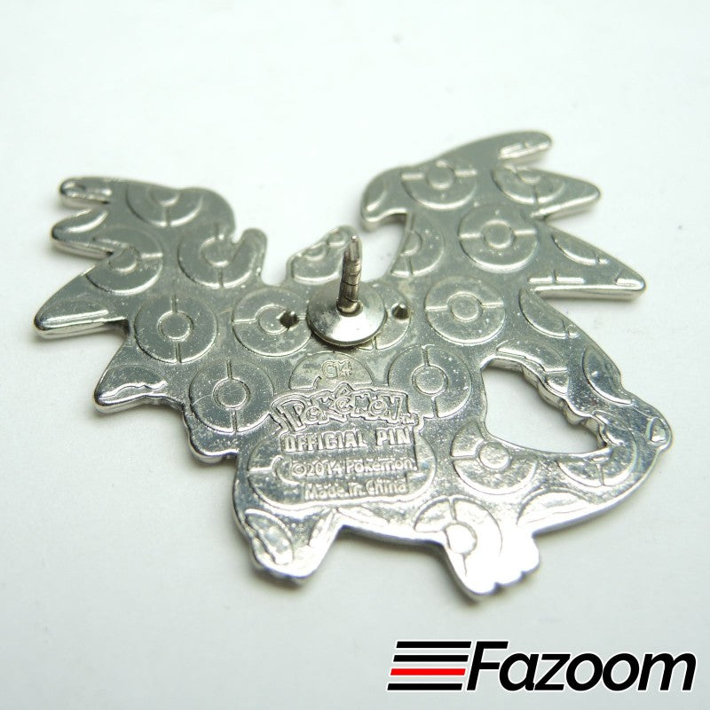 Pokemon XY BLUE Charizard X Collector's Lapel Pin - fazoom