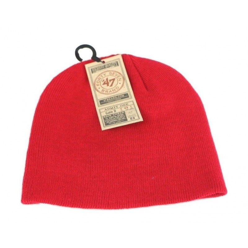 Washington Capitals NHL '47 Brand Toddler Beanie Stocking Hat Cap, Red - fazoom
