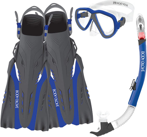 SNORKEL AZORES S/M BLUE/GREY  - 17042SET