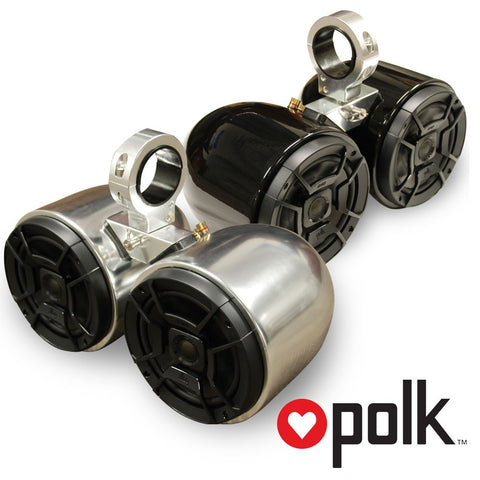 BOCINAS DOBLE POLK AUDIO NEGRO - PA002
