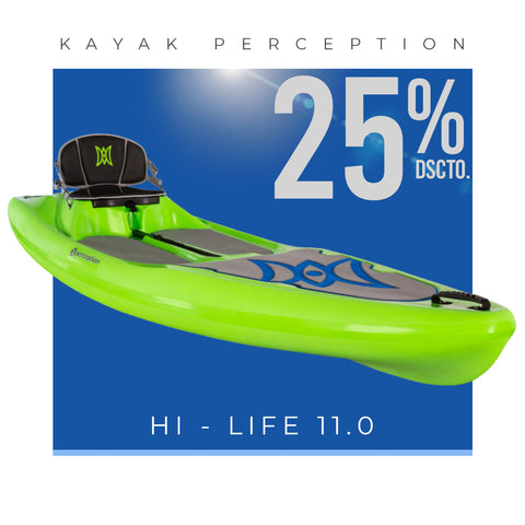KAYAK HI-LIFE! 11.5 LIME - 9351597061