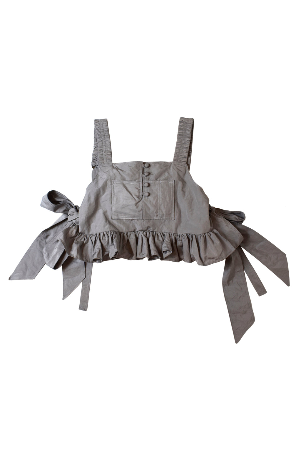 NYLON RUFFLE TOP – 1 OF 1