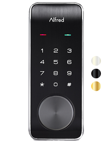 Alfred Smart Home Lock With Key Override