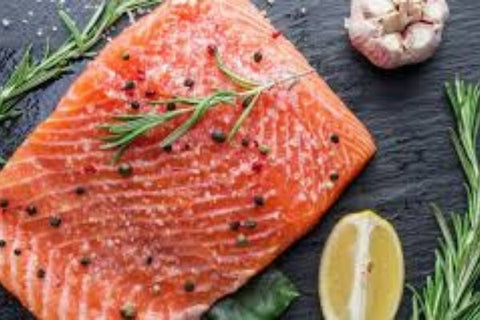 Picture of healthy salmon