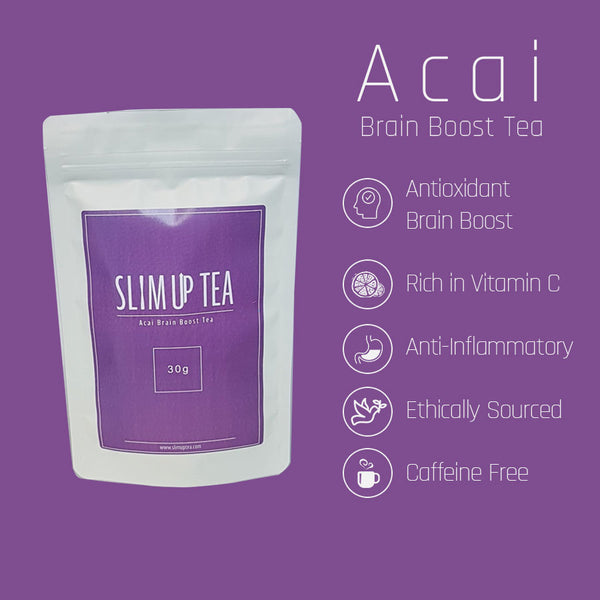 Acai Brain Boost Tea - SlimUp Tea