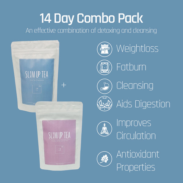 14 day SlimTox & Cleanse Programme - SlimUp Tea