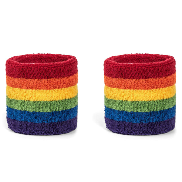 Suddora Rainbow Sweatband Set