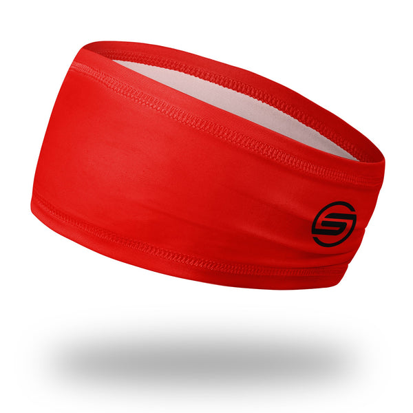 "Red 4.5"" Wrap Headband"
