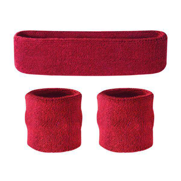Suddora Kids Sweatband Set (1 Headband & 2 Wristbands)