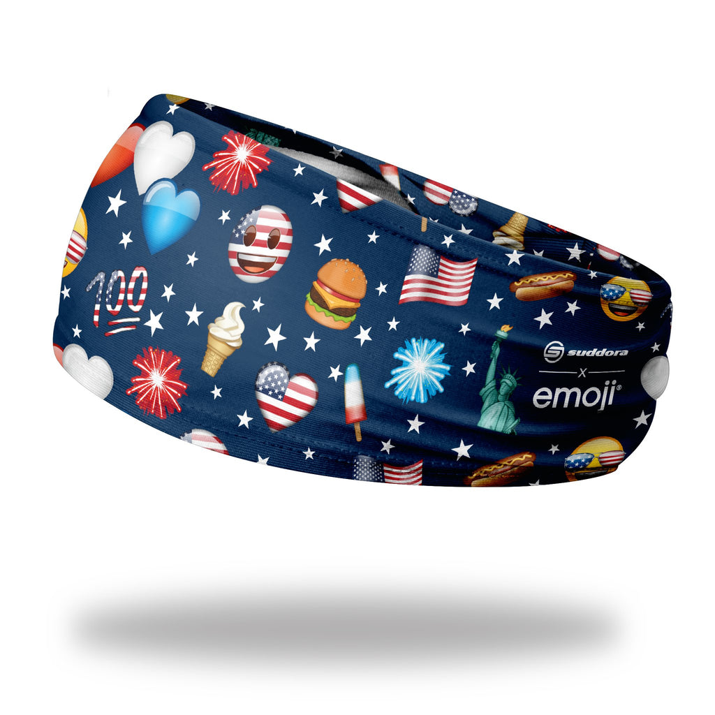- emoji® 4th of July Headband (Dark - 3.5