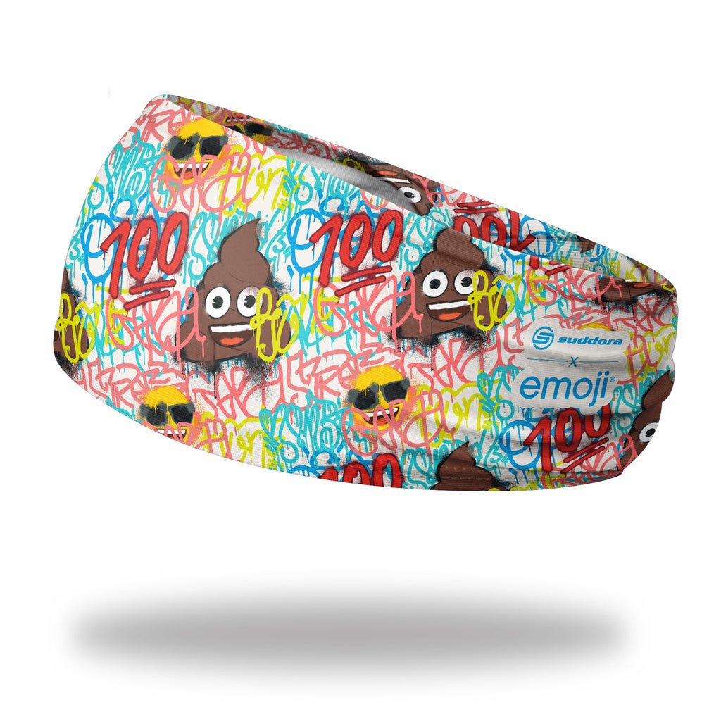 - emoji® Graffiti Poo Headband (3.5