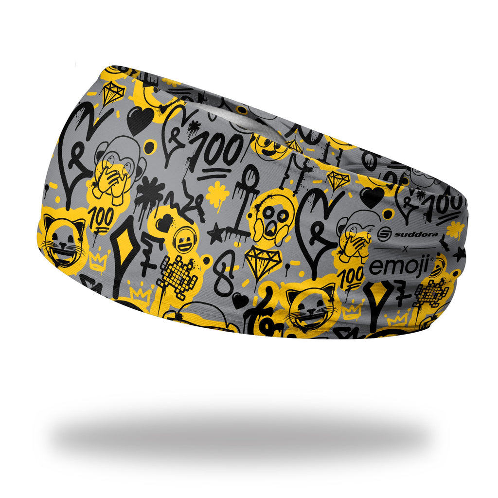 - emoji® Graffiti Headband (3.5