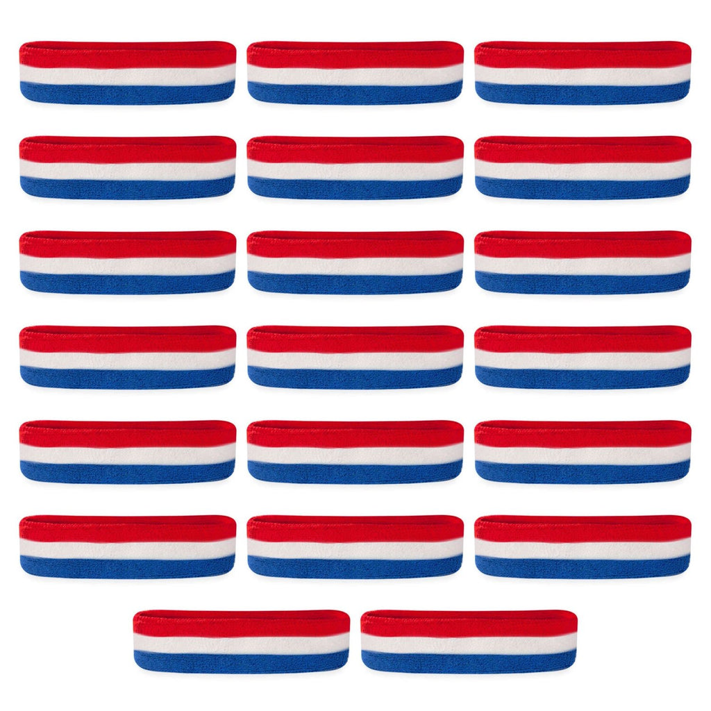 - Bulk Headbands / Sweatbands (20 Pack)