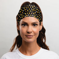 "emoji® Icon Headband (Dark - 3.5"" Tapered)"