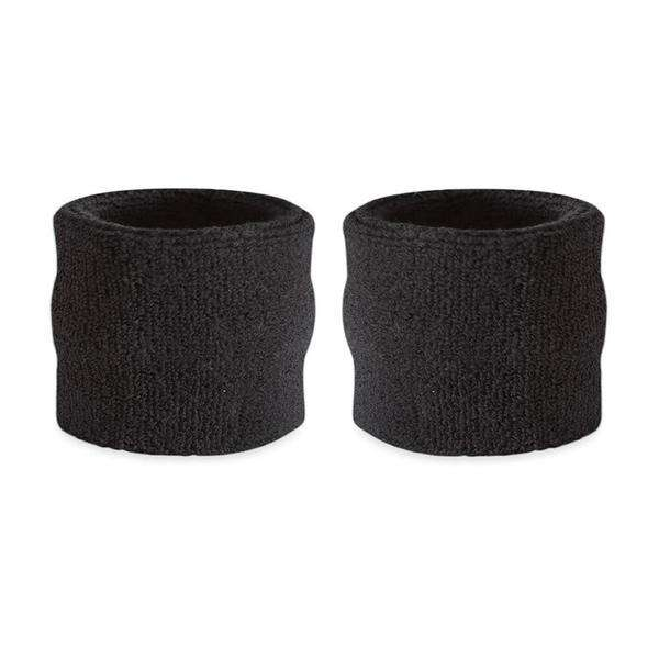 Black - Suddora Kids Wristband Pair