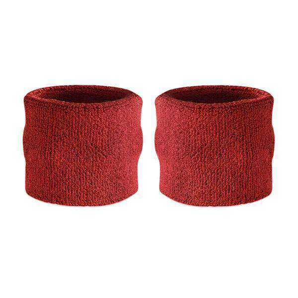 Maroon - Suddora Kids Wristband Pair