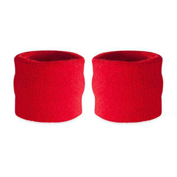 Red - Suddora Kids Wristband Pair [3-Pack]