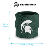 Michigan State University Wristband Pair