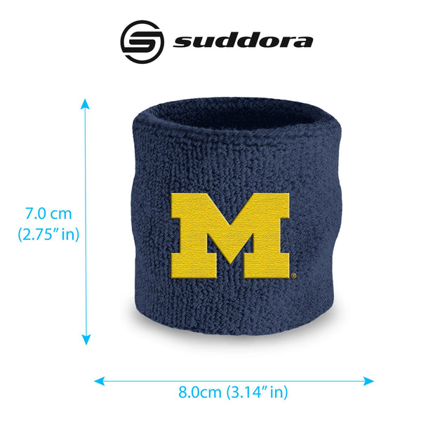 University of Michigan Wristband Pair