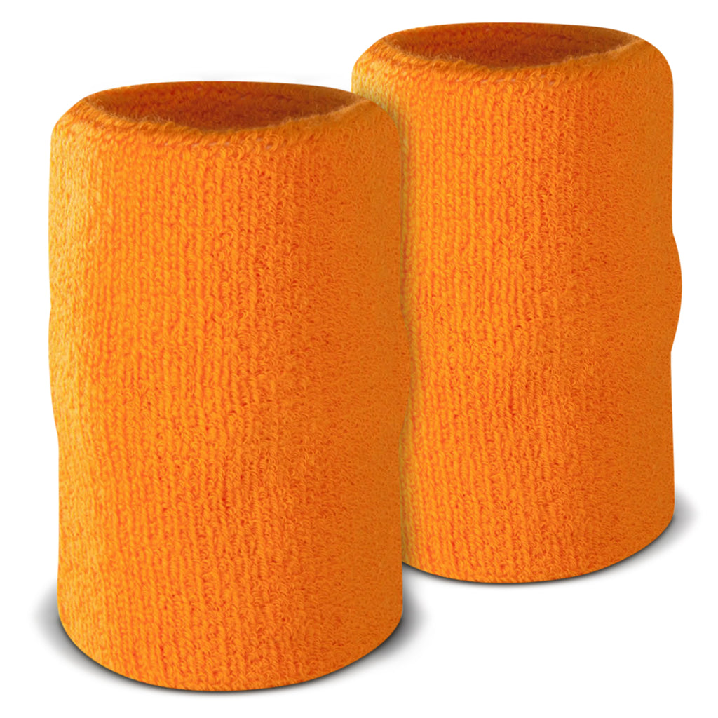 Orange - Suddora 6 Inch Armband Pair