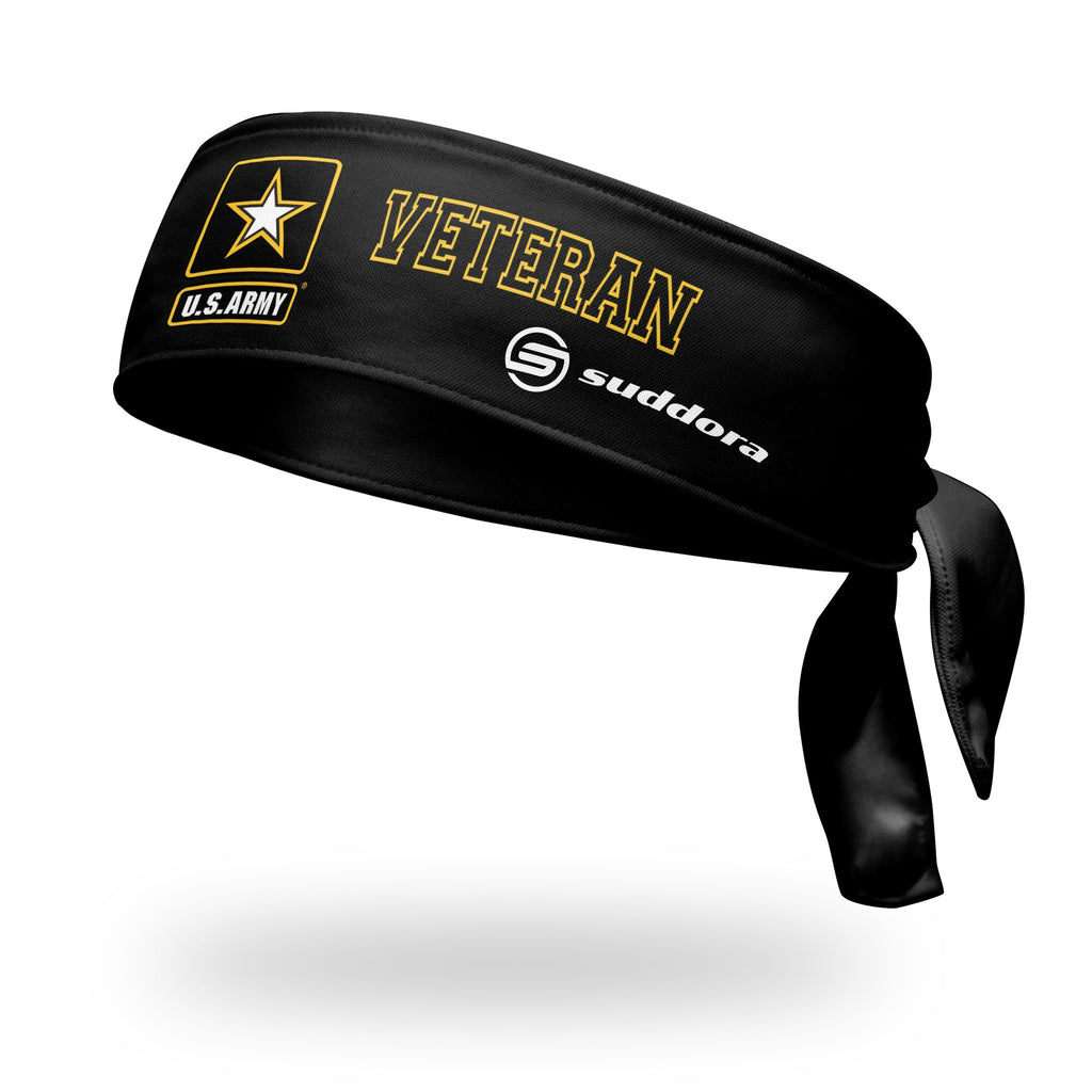 - U.S. Army Veteran Tie Headband - Black