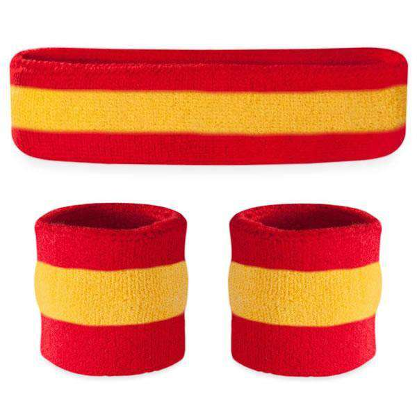 - Suddora Striped Sweatband Sets