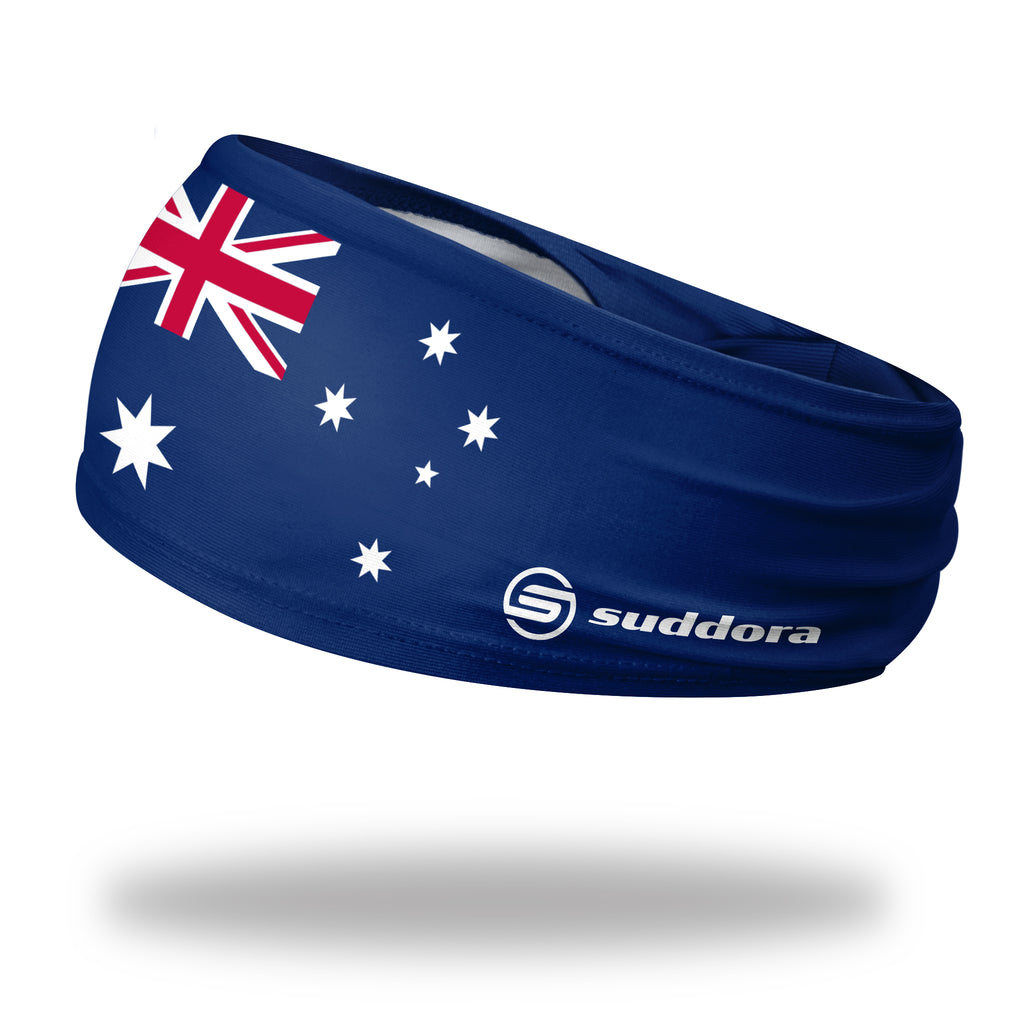- Australia Tapered Non-Slip Headband