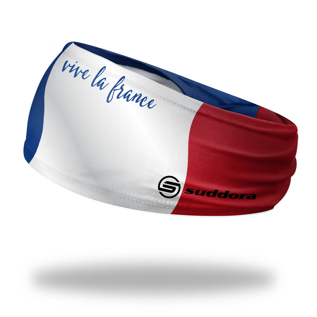 - France Tapered Non-Slip Headband