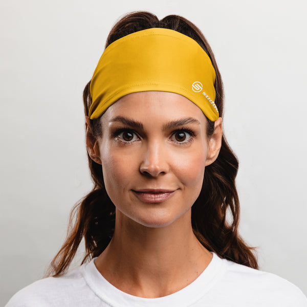 Suddora Gold Wide Tapered Non-Slip Headband