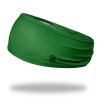 Suddora Green Wide Tapered Non-Slip Headband