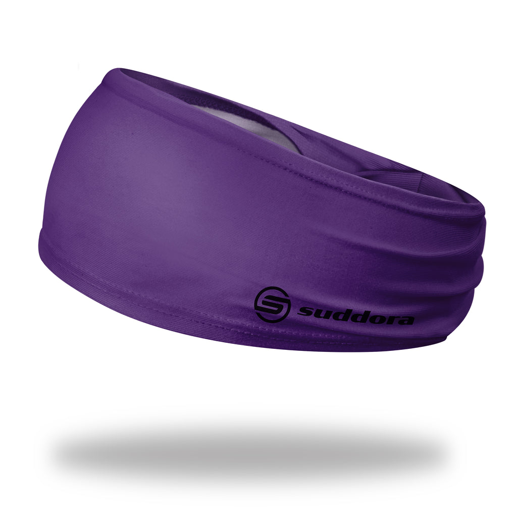 - Suddora Purple Wide Tapered Non-Slip Headband