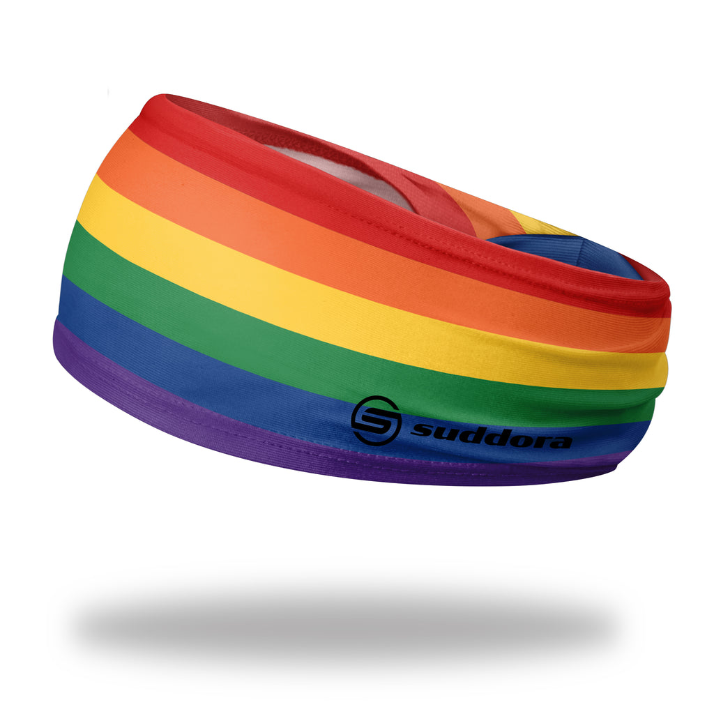 - Suddora Rainbow Wide Tapered Non-Slip Headband