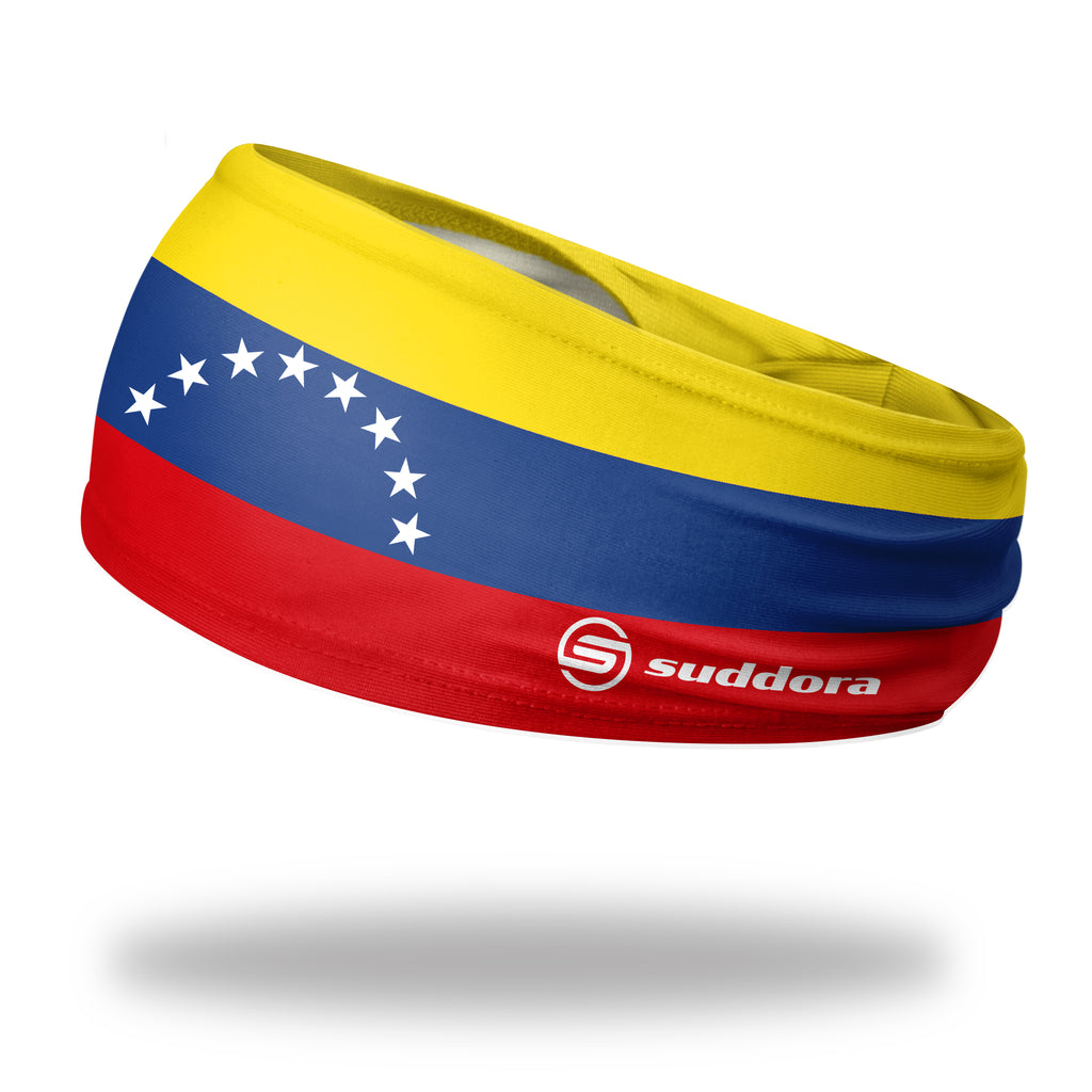 - Venezuela (8 star) Non-Slip Tapered Headband