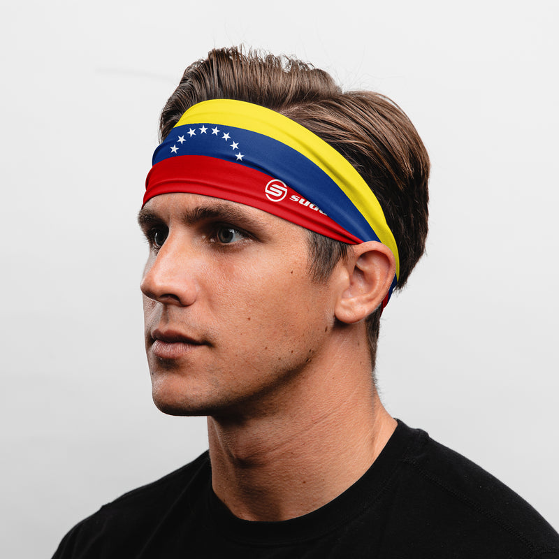 Venezuela (8 star) Non-Slip Tapered Headband