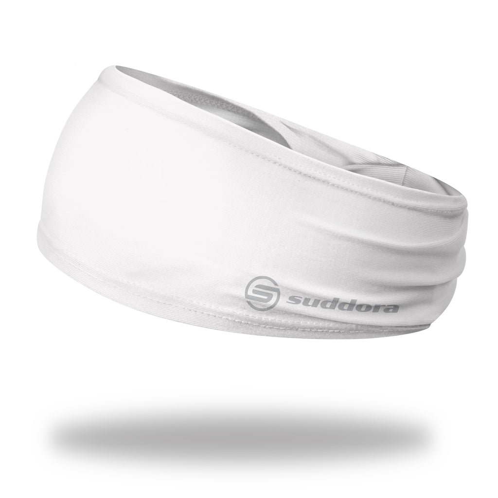 - Suddora White Wide Tapered Headband