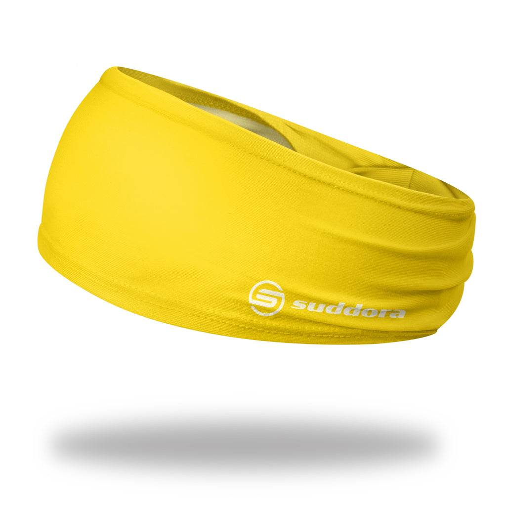 - Suddora Yellow Wide Tapered Headband