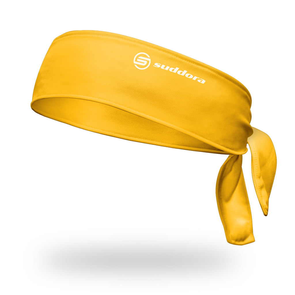 - Suddora Gold Tie Headband