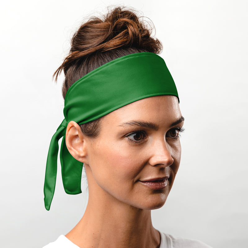 Suddora Green Tie Headband