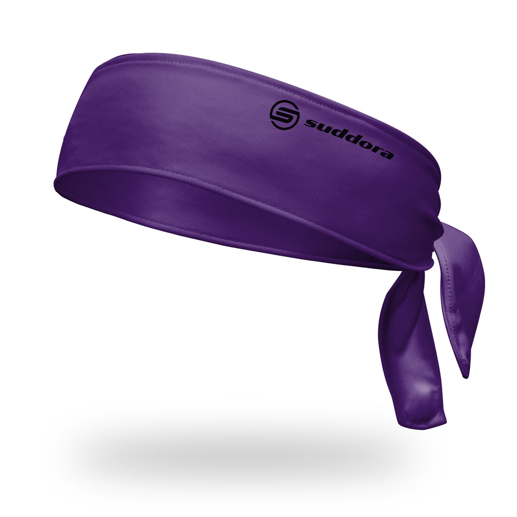 - Suddora Purple Tie Headband