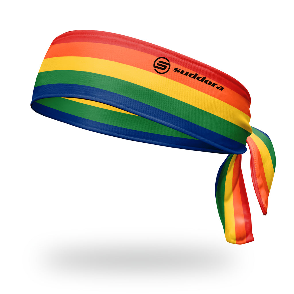 - Suddora Rainbow Tie Headband