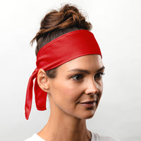Suddora Red Tie Headband